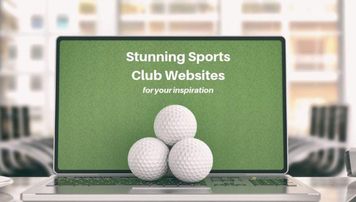 15 Stunning Sports Club Website Designs